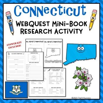 Connecticut Webquest Common Core Research Mini Book