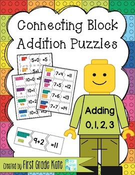 Addition Puzzles for Adding 0,1,2,3