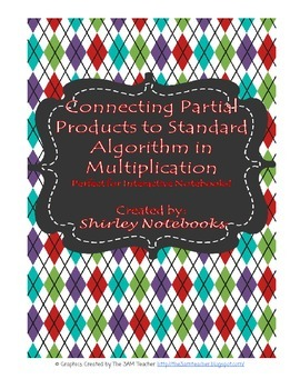 Connecting Partial Products to Standard Algorithm Interact