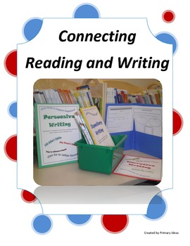 Connecting Reading and Writing Center