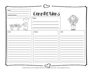 Connections Graphic Organizer