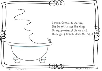 Connie, Connie in the tub