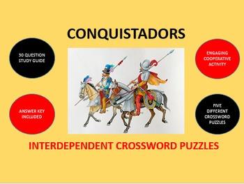 Conquistadors - Spanish Conquest in the Americas: Crosswor