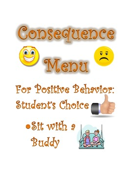 Consequence Menu: Rewards