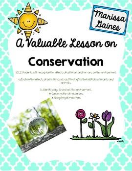 Conservation Lesson
