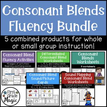 Consonant Blend Fluency Bundle {Small Group Instruction an