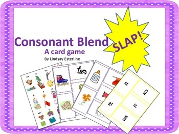 Consonant Blend SLAP! Game
