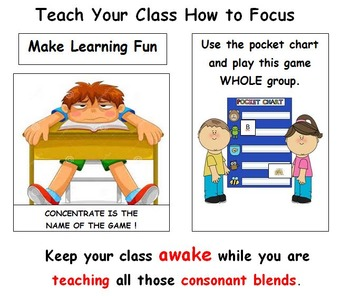 Consonant Blends: Getting to Know Them