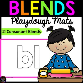 Consonant Blends Playdough Mats
