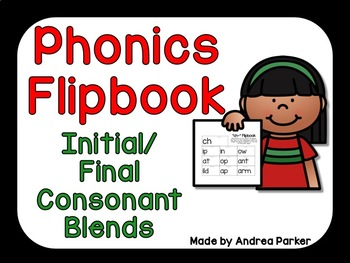 Consonant Blends and Digraphs Flipbook