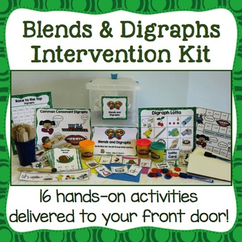 Consonant Blends and Digraphs Intervention Kit