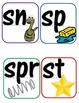 Consonant Blends and Digraphs wall strip