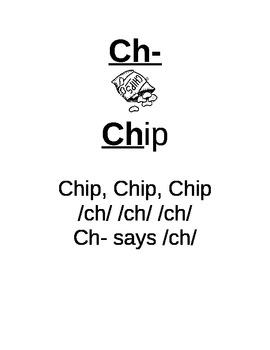 Consonant Digraph Anchor Charts