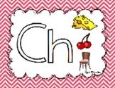 Consonant Digraphs (Ch, Sh, Th, Wh)