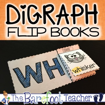 Consonant Digraphs Flip Books