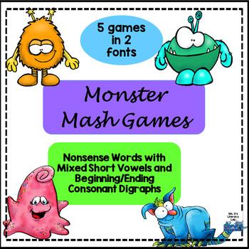 Consonant Digraphs (M.Mash)