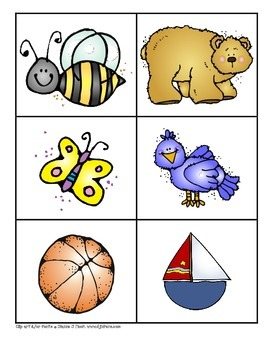 Consonant Initial Sound Picture Cards