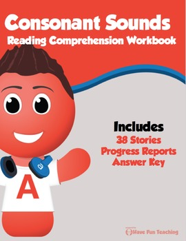 Consonant Sounds Reading Comprehension Bundle