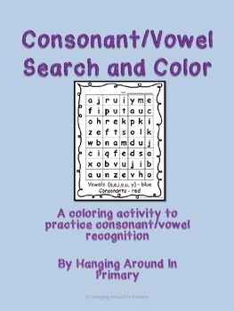 Consonant and Vowel Search and Color