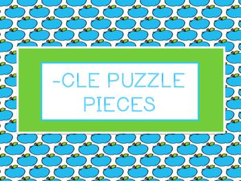 Consonant -le Puzzles -Orton Gillingham