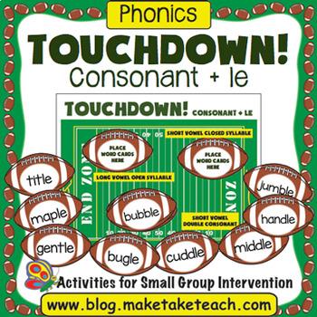 Consonant+le Touchdown!