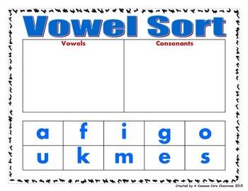 Consonant/Vowel Cut, Sort, and Paste