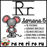 Letra R ra, re, ri, ro, ru BUNDLE