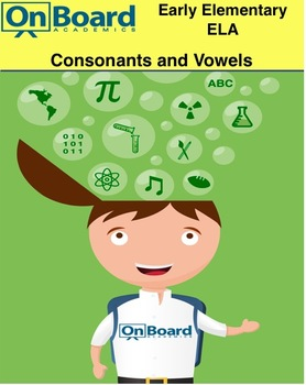 Consonants and Vowels-Interactive Lesson