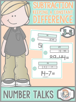 Constant Difference number talk (3-5)