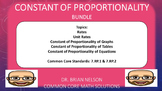 Constant of Proportionality Bundle (PowerPoint Lessons and