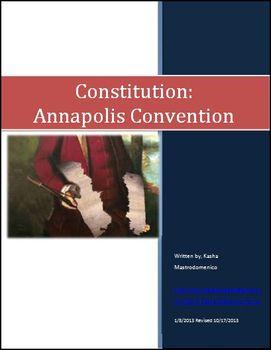 Constitution Annapolis Convention Differentiated Instructi