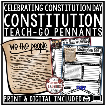 Constitution Day Activities • Constitution Day Writing • T