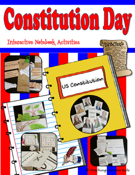Constitution Day Interactive Notebook Activities