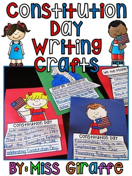 Constitution Day Writing Craft Activities