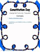Constitution Day Pamphlet Activity Foldable