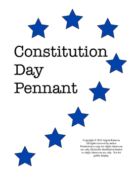 Constitution Day Pennant