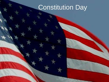 Constitution Day PowerPoint