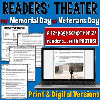 Veterans Day/ Memorial Day Readers' Theater script