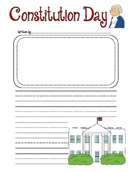 Constitution Day Writing Prompt