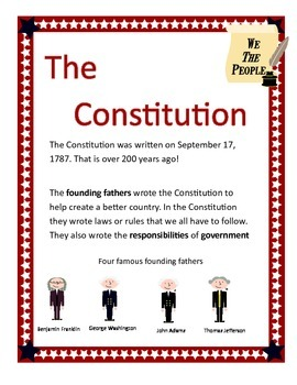Constitution Day draw laws/rules