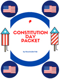 Constitution Day worksheets