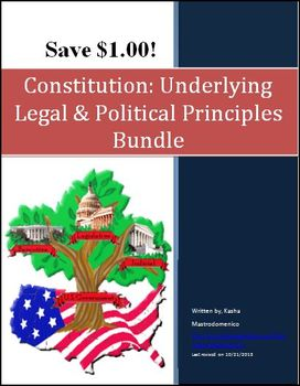 Constitution Underlying Legal and Political Principles Bundle