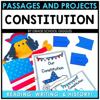 Constitution Unit by Grade School Giggles