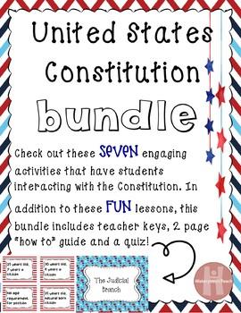 Constitution activity bundle