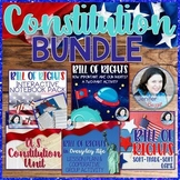 Constitution and Bill of Rights Bundle- 4 Excellent Produc