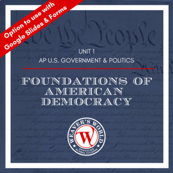 Constitution and Federalism Unit Materials - AP Government