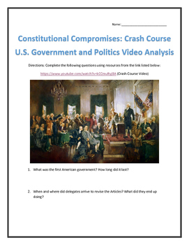 Constitutional Compromises: Crash Course U.S. Government a