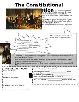 Constitutional Convention Notes