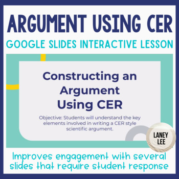 Construct an Argument - Lesson