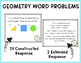 Constructed Response Problems - 3rd Grade Geometry (G)